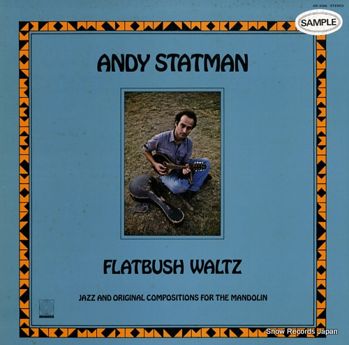 STATMAN, ANDY flatbush waltz AW-2086 - front cover