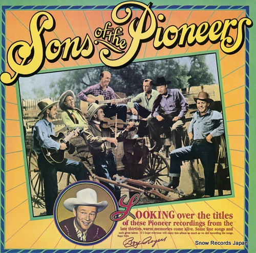 SONS OF THE PIONEERS, THE the sons of the pioneers FC37439 - front cover