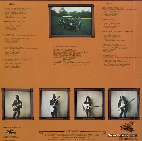 NEW GRASS REVIVAL fly through the country PA-20005 - back cover
