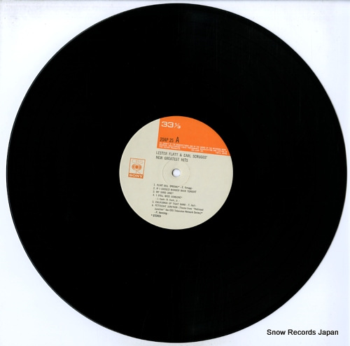 FLATT, LESTER, AND EARL SCRUGGS new greatest hits 20AP25 - disc