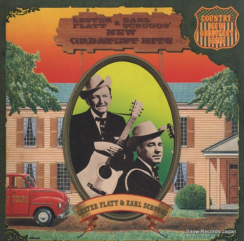FLATT, LESTER, AND EARL SCRUGGS new greatest hits 20AP25 - front cover