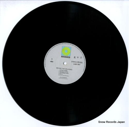 BARENBERG, RUSS behing the melodies L25P-1167 - disc