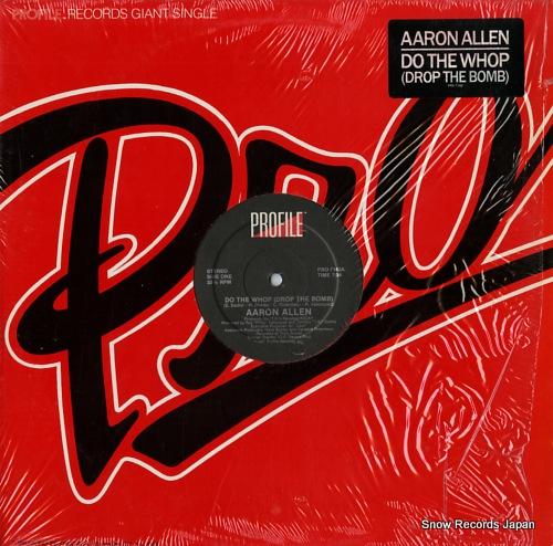 ALLEN, AARON do the whop(drop the bomb) PRO-7142 - front cover