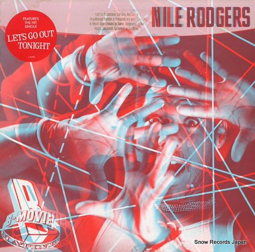 RODGERS, NILE b-movie matinee 925290-1 - front cover