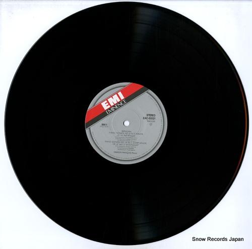 FRANCOIS, SAMSON beethoven; pathetique / moonlight / appassionata EAC-55121 - disc