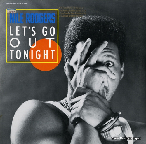 RODGERS, NILE let's go out tonight 920311-0 - front cover