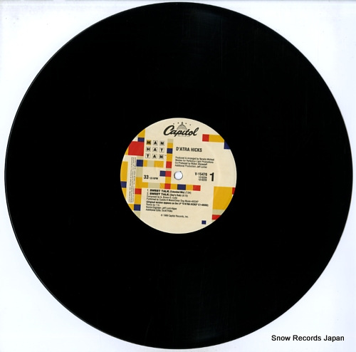 HICKS, D'ATRA sweet talk V-15476 - disc