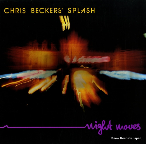 CHRIS BECKERS SPLASH night moves GBD0059 - front cover