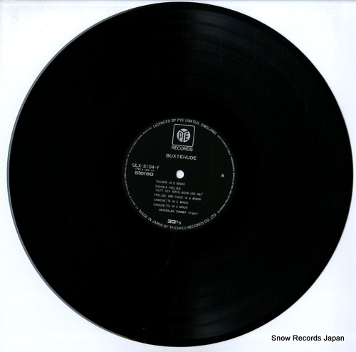DANBY, NICHOLAS buxtehude; organ works ULX-3104-Y - disc