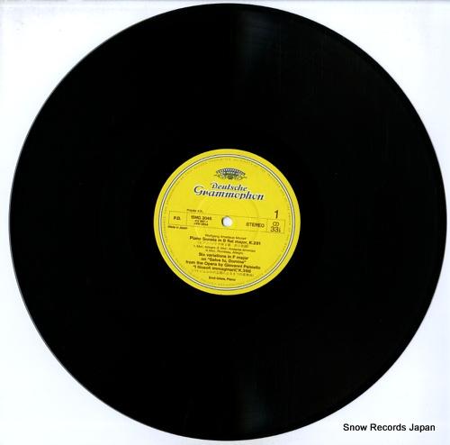 GILELS, EMIL mozart; piano sonatas, k.281 and 310 15MG3046 - disc