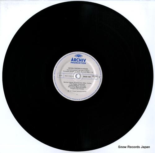 RICHTER, KARL handel; 3 concerti grossi op.6 nos.5, 8, 9 2533142 - disc