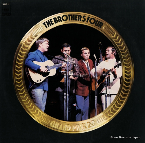 BROTHERS FOUR, THE grand prix 20 29AP41 - front cover