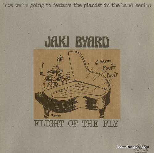 BYARD, JAKI flight of the fly LDX74600 - front cover