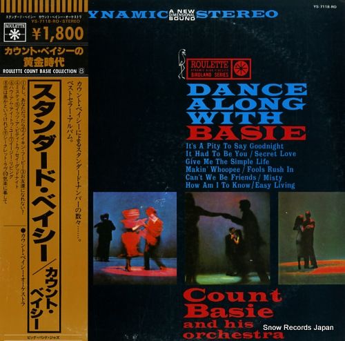 BASIE, COUNT dance along with basie YS-7118-RO - front cover