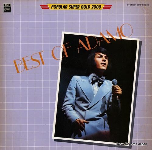 ADAMO best of adamo EOS-60004 - front cover