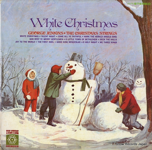 JENKINS, GEORGE white christmas the christmas strings YS-215 - front cover