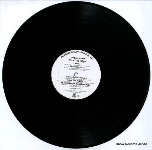 COOLIDGE, RITA love me again SP-4699 - disc