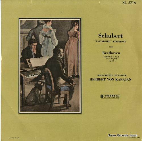 ヘルベルト・フォン・カラヤン シューベルト:交響曲第8番「未完成」 XL5216