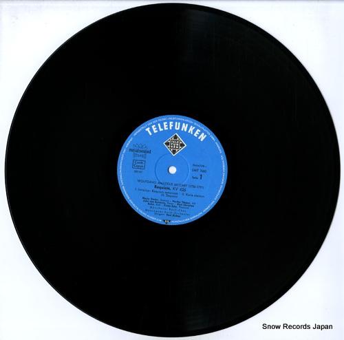 RICHTER, KARL mozart; requiem SMT1160 - disc