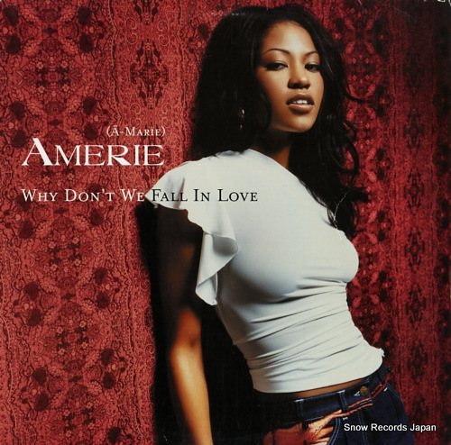 AMERIE why don't we fall in love (remixes) 44-79774 - front cover