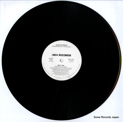 KNIGHT, GLADYS next time MCA8P-3308 - disc