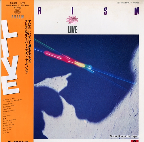 PRISM live MRA9646/7 - front cover