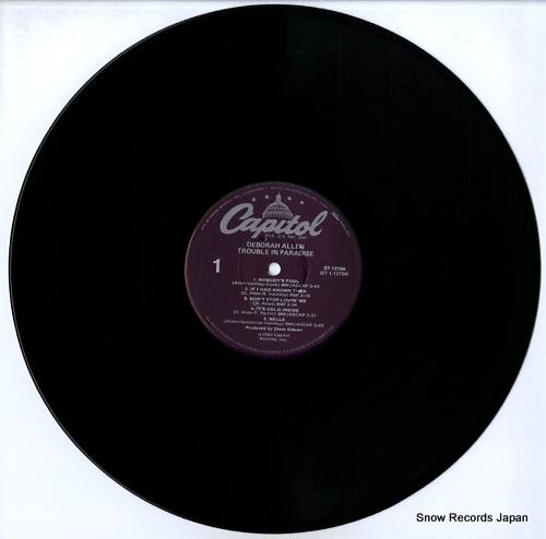 ALLEN, DEBORAH trouble in paradise ST-12104 - disc