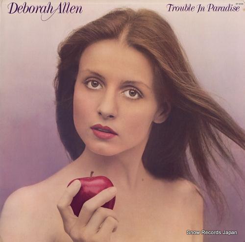 ALLEN, DEBORAH trouble in paradise ST-12104 - front cover