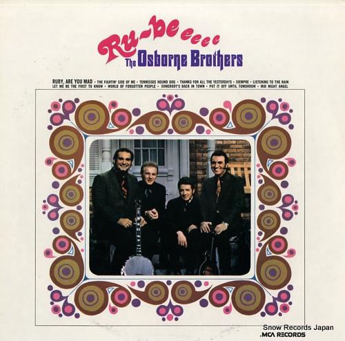 OSBORNE BROTHERS, THE ru-be eeee MCA-135 - front cover