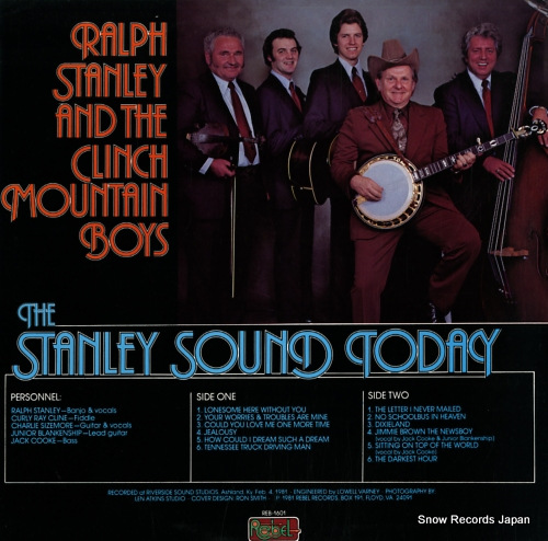 STANLEY, RALPH the stanley sound today REB-1601 - back cover