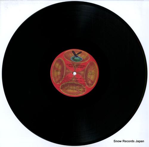 STANLEY BROTHERS, THE banjo in the hills / 5-string banjo SK-872/K-872 - disc