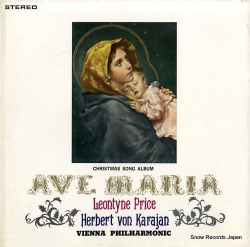 PRICE, LEONTYNE ave maria / christmas song album SLC1454 - back cover