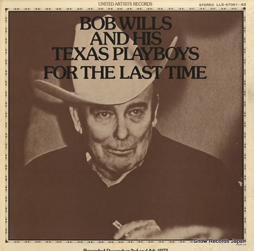 WILLS, BOB for the last time LLS-67061-62 - front cover