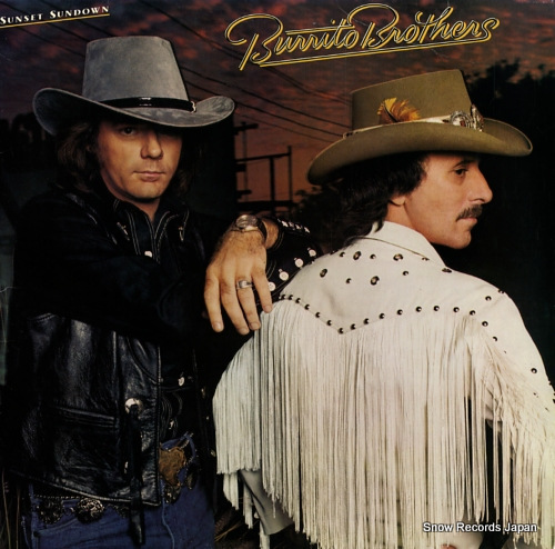 BURRITO BROTHERS, THE sunset sundown FZ37705 - front cover