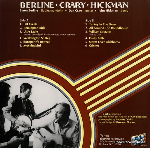 V/A berline crary hickman SH3720 - back cover