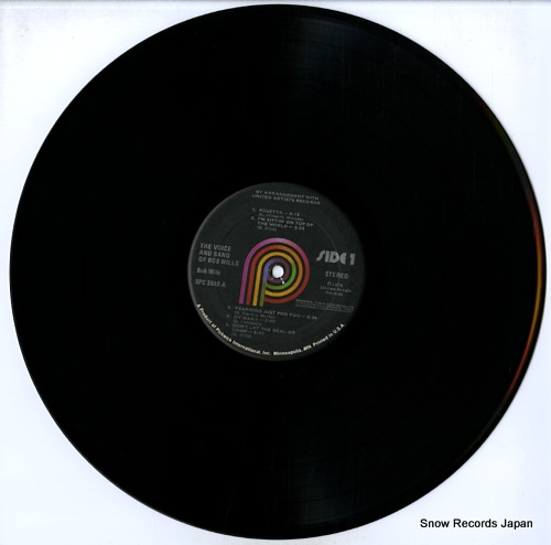 WILLS, BOB the voice & band of bob wills SPC-3592 - disc
