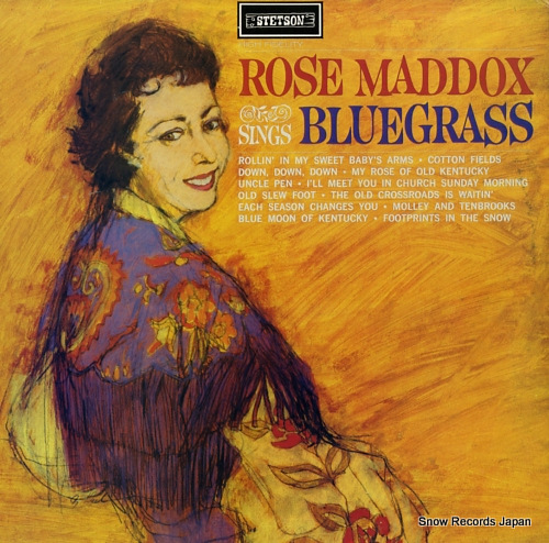 MADDOX, ROSE sings bluegrass HAT3029 - front cover