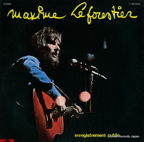 LE FORESTIER, MAXIME olympia live MP2534 - front cover