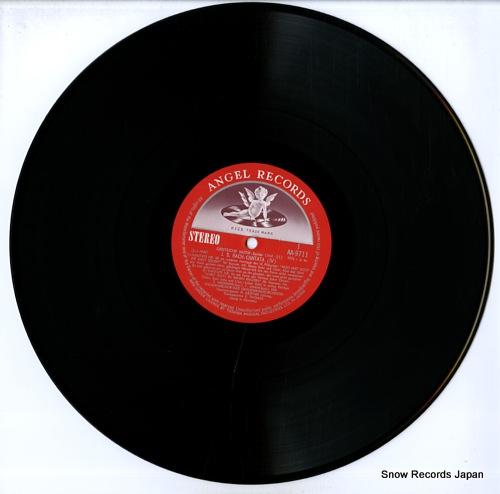 THOMAS, KURT bach; kantate nr.68 & nr.11 AA-9711 - disc