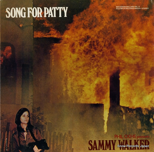 WALKER, SAMMY broadside ballads vol.8 / song for patty BR5310 - front cover