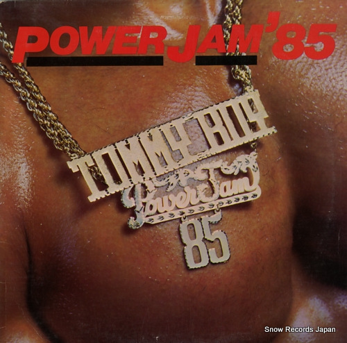 V/A power jam '85 TBLP1006 - front cover
