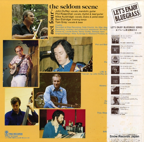 SELDOM SCENE, THE act four PA-23008 - back cover