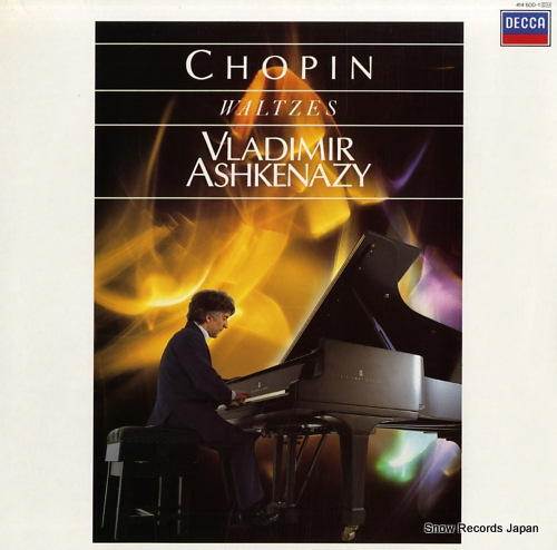 ASHKENAZY, VLADIMIR chopin; waltzes 414600-1 - front cover