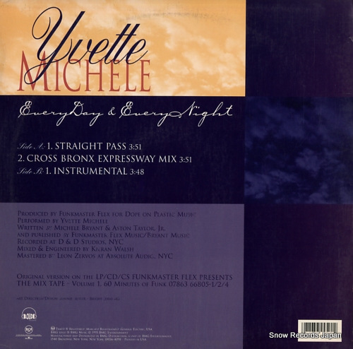 MICHELE, YVETTE everyday & everynight RCA64450-1 - back cover