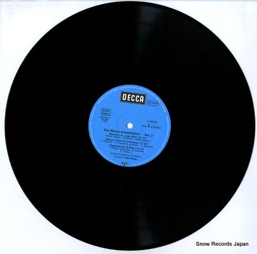MAAG, PETER mozart; schatzkastlein vol.2 6.42140AF - disc