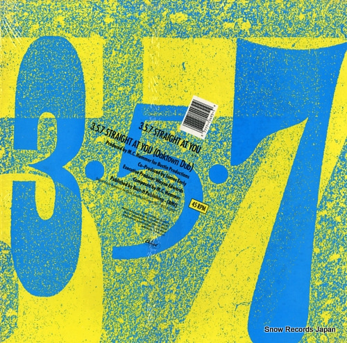 OAKTOWN'S 3-5-7 3-5-7 straight at you V-15495 - back cover