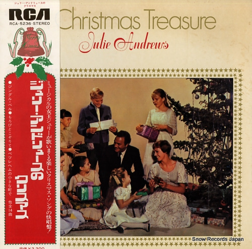 ANDREWS, JULIE a christmas treasure RCA-5236 - front cover