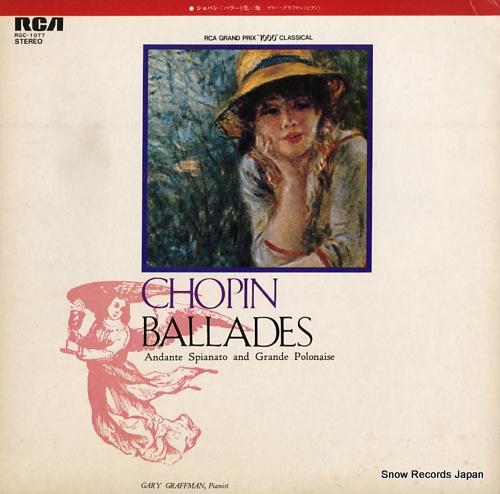 GRAFFMAN, GARY chopin; ballades RGC-1077 - front cover