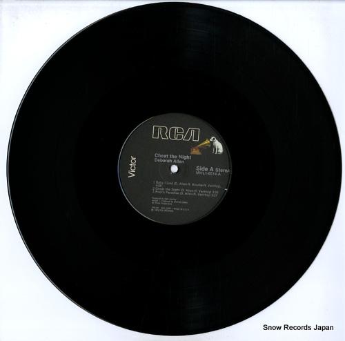 ALLEN, DEBORAH cheat the night MHL1-8514 - disc