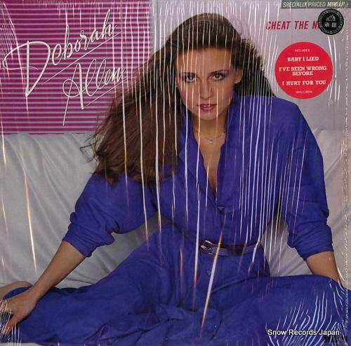 ALLEN, DEBORAH cheat the night MHL1-8514 - front cover